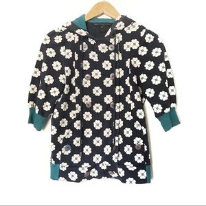 Marc by Marc Jacobs Floral Sweater Jacket Size XS